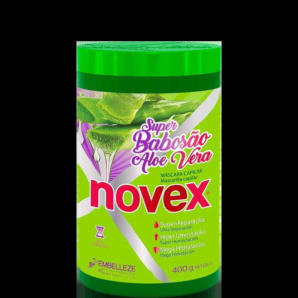 Máscara Novex Super Babosão Aloe Vera 400g