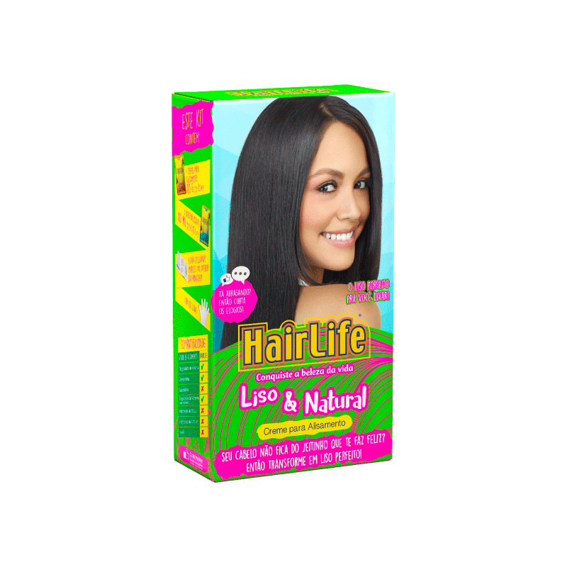 Kit de Alisamento HairLife Liso&Natural