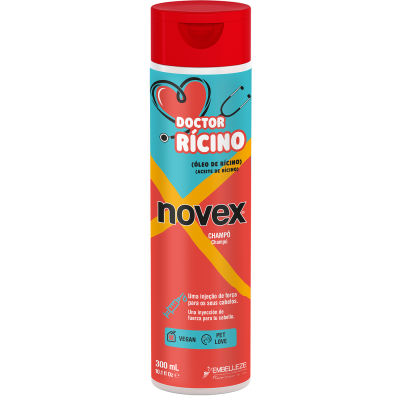 Champô Doctor Rícino 300ml
