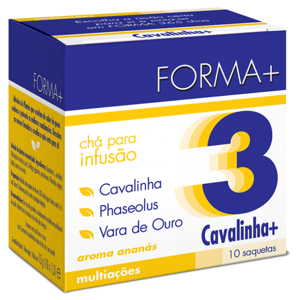 Forma + Nº3 CAVALINHA+ Chá Infusão