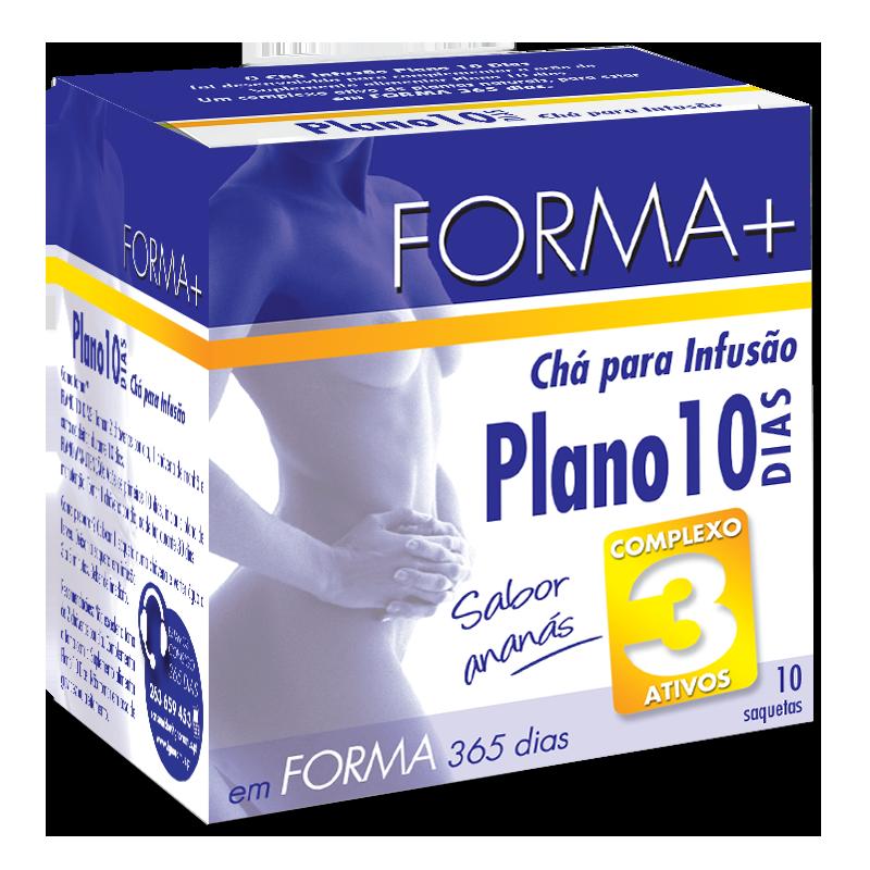 Forma + Chá Plano 10 dias