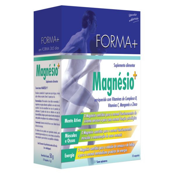 Forma + Magnésio + 10 saquetas