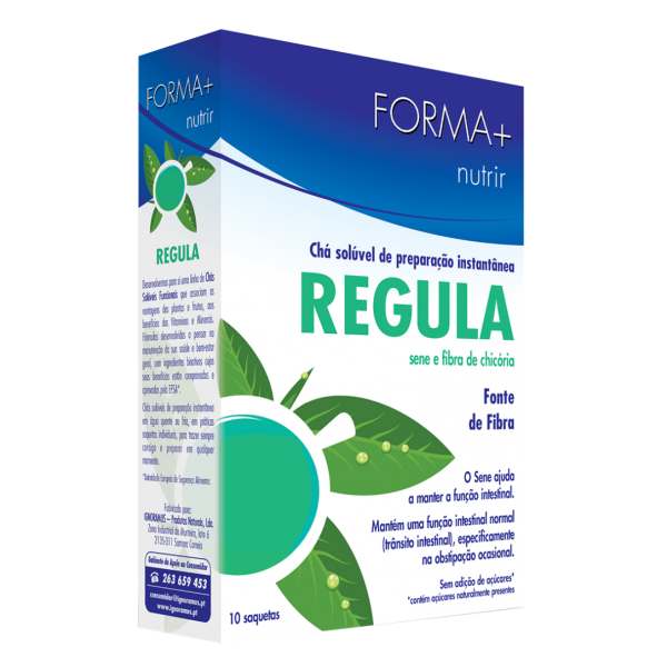 Forma + Chá Solúvel Funcional Regula