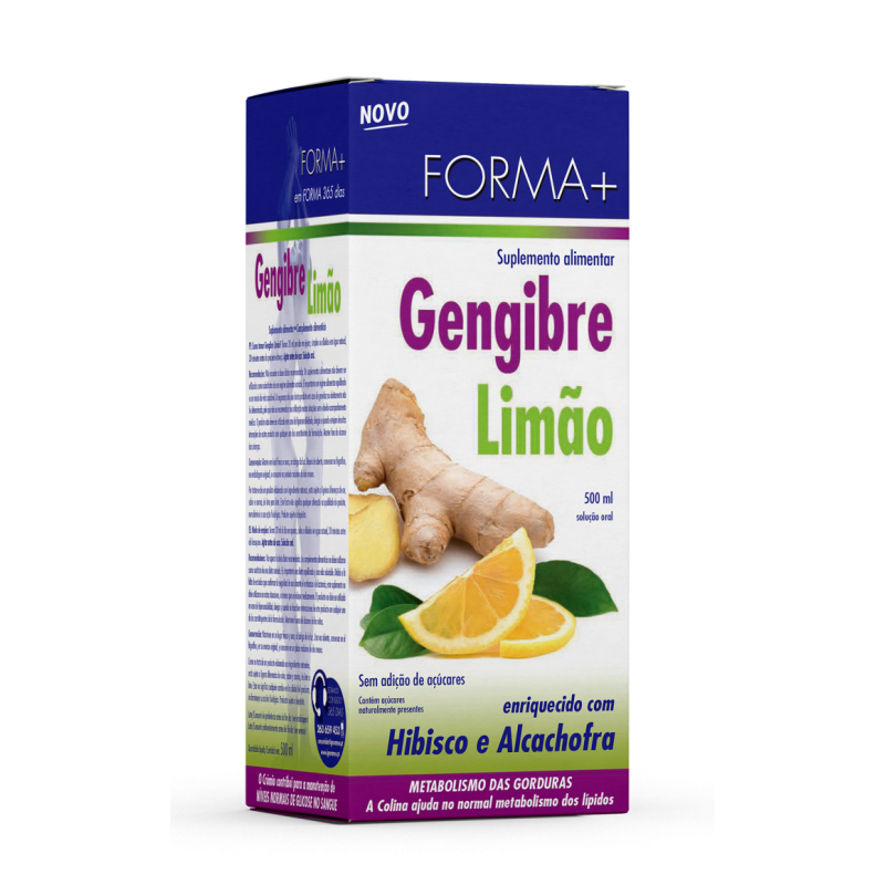 Forma + Gengibre e Limão