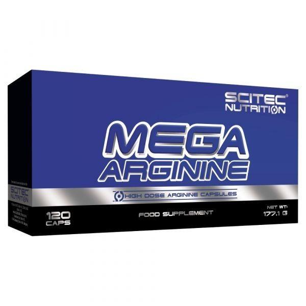 """L-Arginina - Mega Arginine Scitec - O """"Viagra"""" Natural Muito Mais Barato e Seguro! 120 Cápsulas"""