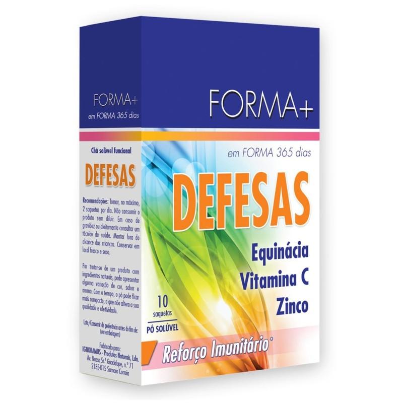 Forma + Chá Solúvel Funcional Defesas