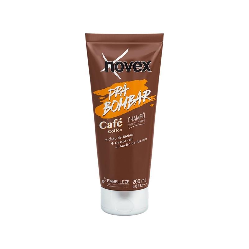 Shampoo Novex Pra Bombar Café 200Ml