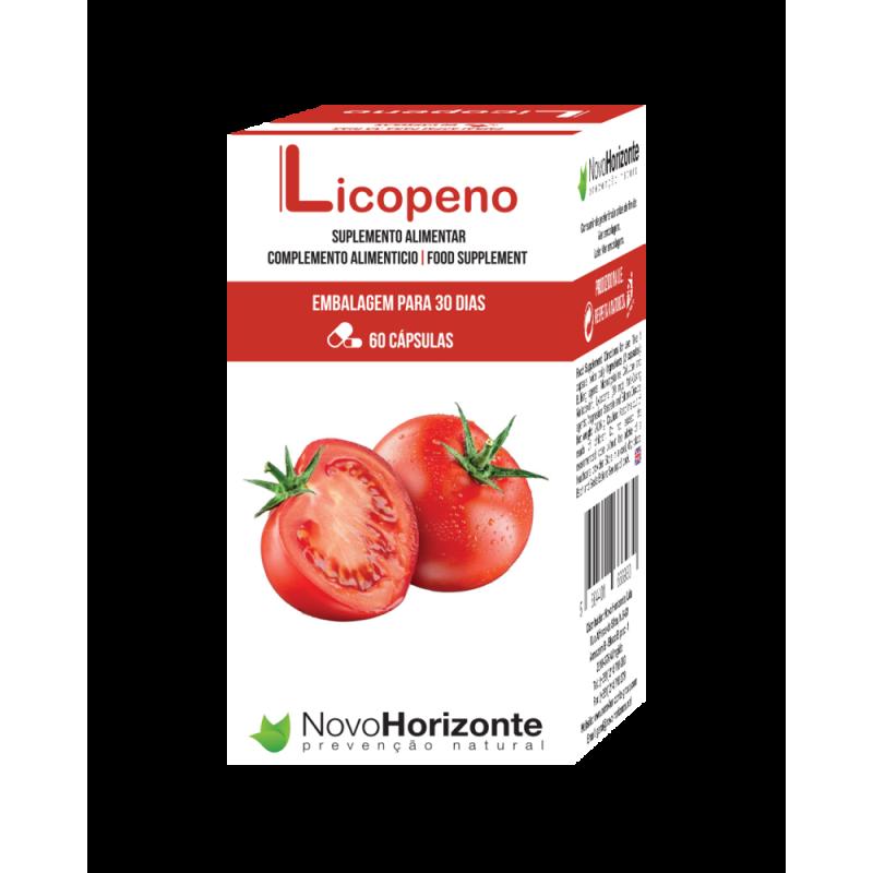 NOVO HORIZONTE LICOPENO 20 MG. (EMBALAGEM PARA 30 DIAS) 60 COMPRIMIDOS