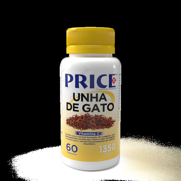 UNHA DE GATO 60 CAPSULAS -PRICE