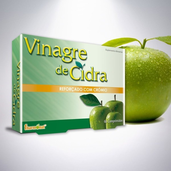 VINAGRE DE CIDRA 60 COMPRIMIDOS