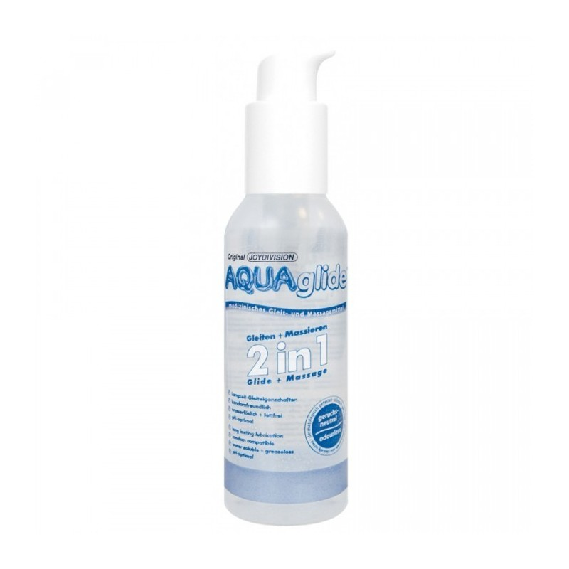 Gel Lubrificante Aqua Glide 2 em 1 - 125 ml