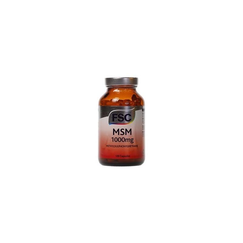 MSM - methylsulfonylmethane - 120 comprimidos de 750mg
