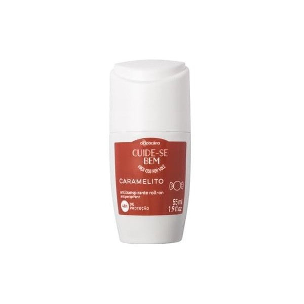 Cuide Se Bem Antitranspirante Roll-ON Caramelito, 55ml