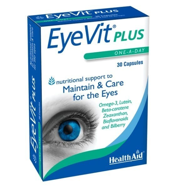 Health Aid EyeVit Plus 30 Cápsulas