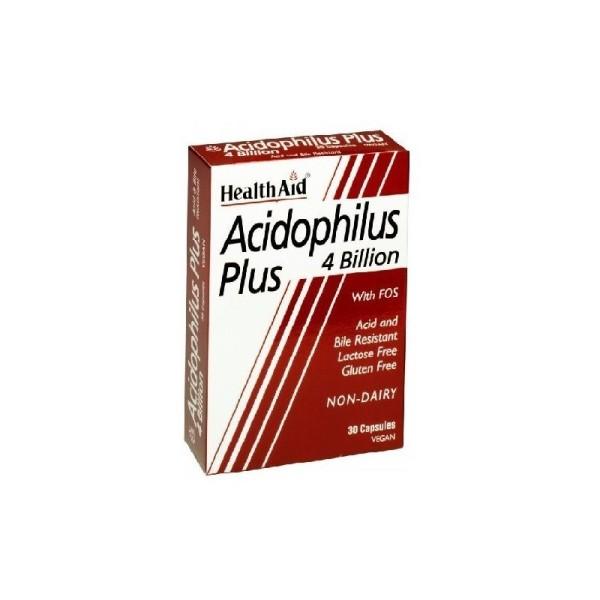 Health aid Health Aid ACIDOPHILUS PLUS 30 Cápsulas