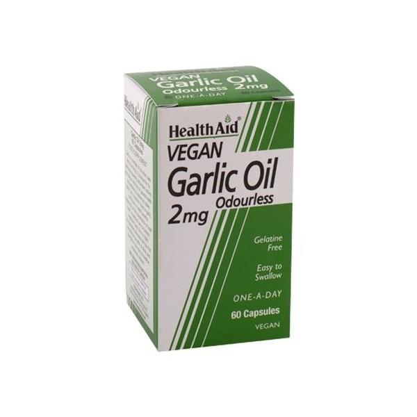 Health Aid Oleo de Alho s/ Odor 2mg 60 cápsulas