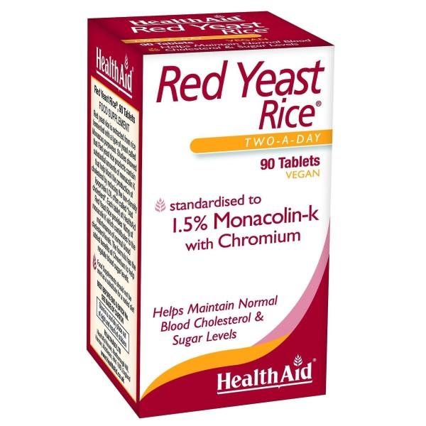 Comprimidos de arroz de levedura vermelha 90 comprimidos