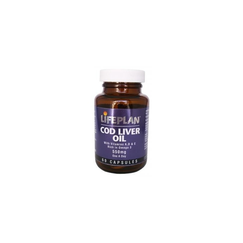 Cod Liver Oil - OLEO DE FIGADO DE BACALHAU 60caps. 1000mg