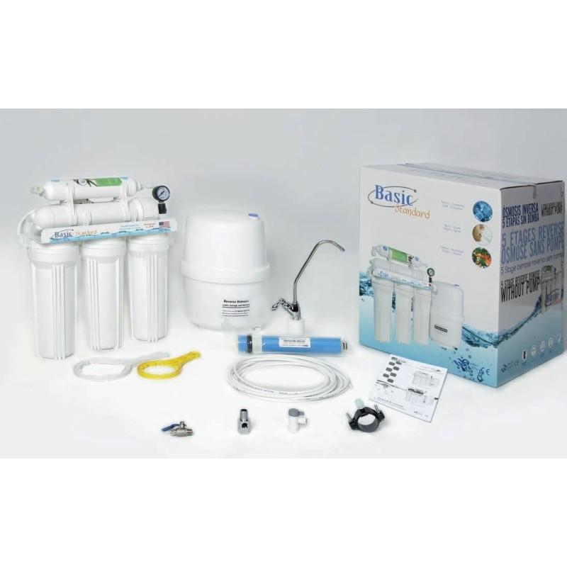 Purficador de água doméstico 5 etapas por Osmose Inversa
