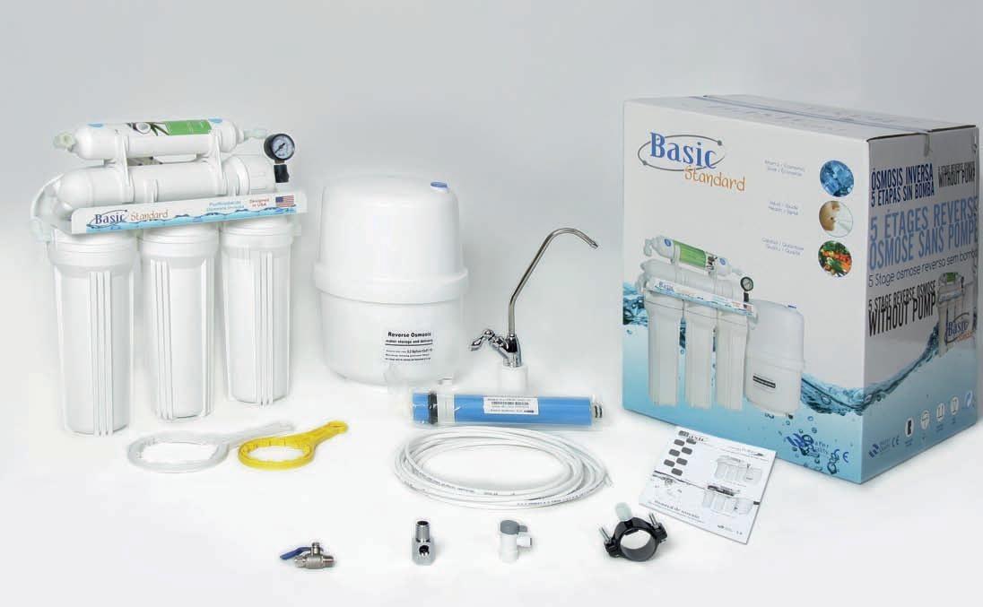 Purficador de gua dom stico 5 etapas por osmose inversa - Filtros de agua domesticos ...
