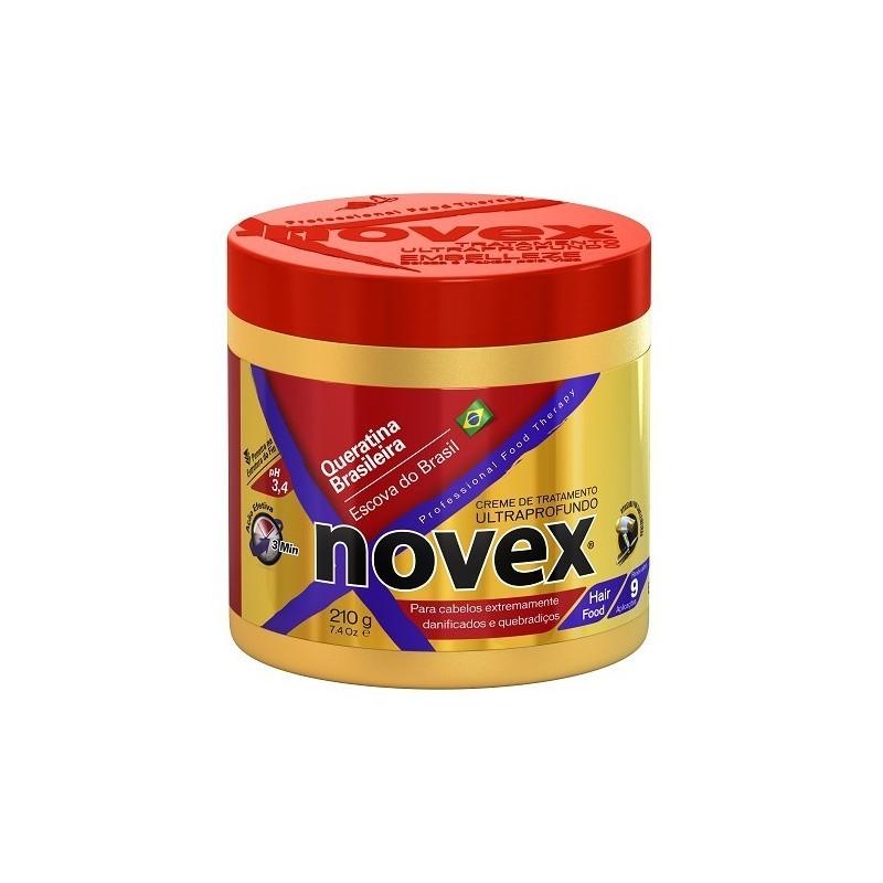 Novex Queratina Brasileira Creme de Tratamento 210g