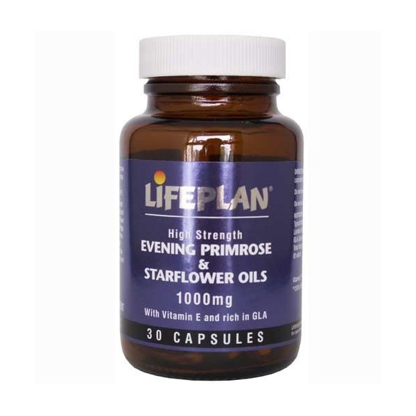 EVENING PRIMOROSE +STARFLOWER OIL - OLEO DE ONAGRA+OLEO DE BORRA - 30 comp. 1000mg