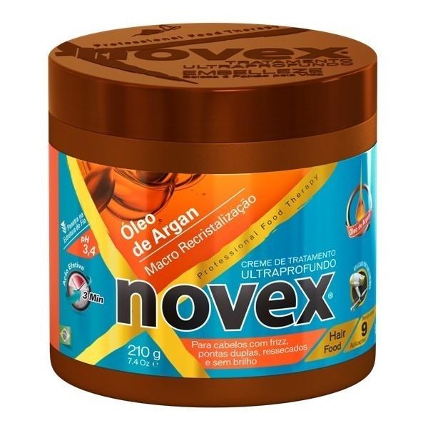 Novex Oleo de Argan Creme de Tratamento 210g