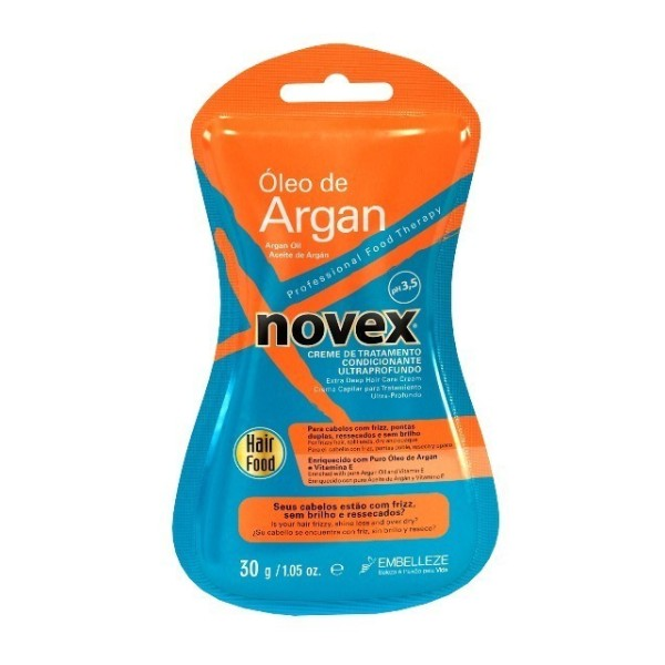 Novex Oleo de Argan Creme de Tratamento 6 Saquetas 30g