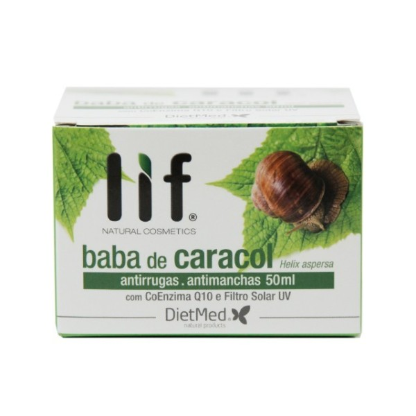 Baba de Caracol - Creme - Helix aspersa - creme de 50 ml