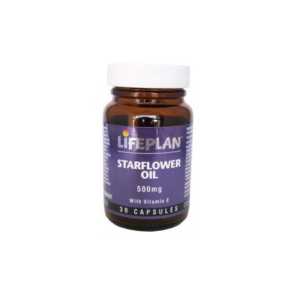 STARFLOWER OIL – OLEO DE BORRAGEM - 30 Cápsulas de 500 mg