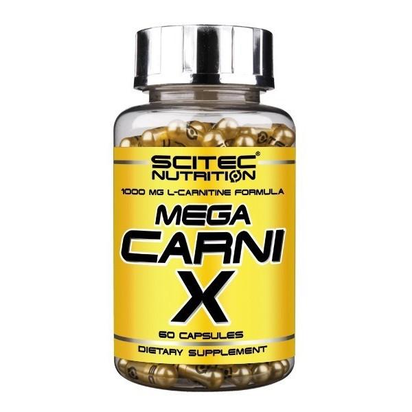 MEGA CARNI-X Scitec - 1000 mg L-carnitina 60cáps