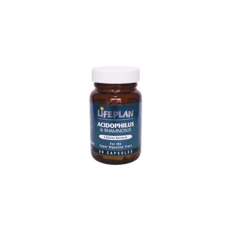 ACIDOPHILUS + L.RHAMNOSUS - 50 Cápsulas