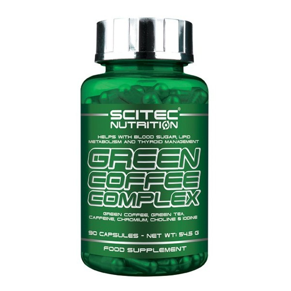 Scitec Green Coffee Complex - Café Verde 90 cápsulas