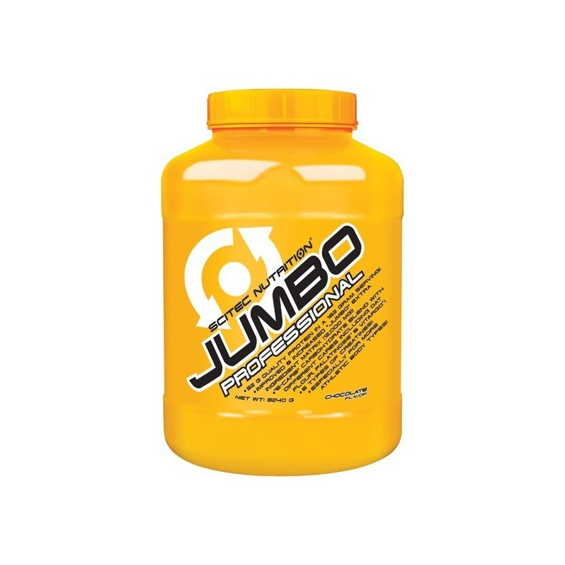 Jumbo Professional 3240g Scitec - Complexo de Proteínas para aumentar massa muscular.
