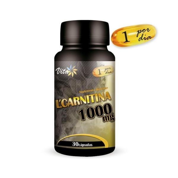 L-carnitina 1000mg Low Cost - 30 Cápsulas