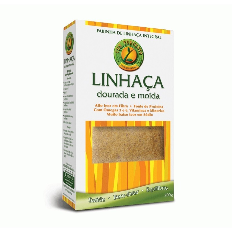 FARINHA DE LINHAÇA INTEGRAL 200g