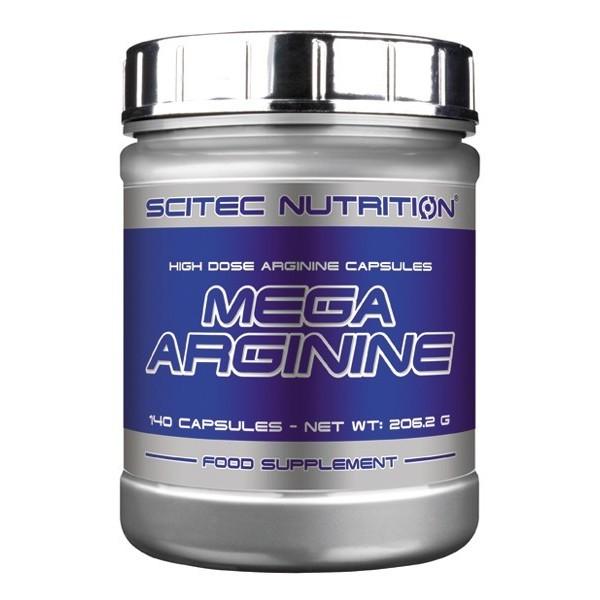 """L-Arginina - Mega Arginine Scitec - O """"Viagra"""" Natural Muito Mais Barato e Seguro! 140 Cápsulas"""