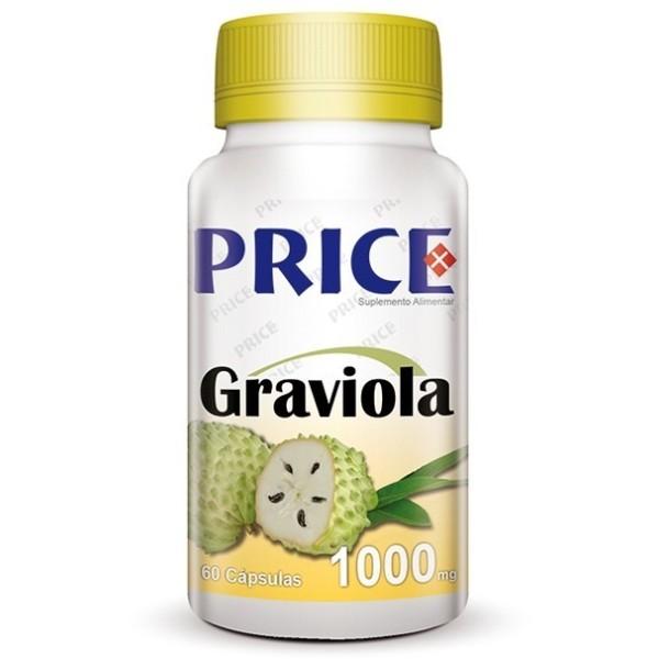 Graviola - Anti-Câncer/Cancro - 60 cápsulas de 1000mg - Price