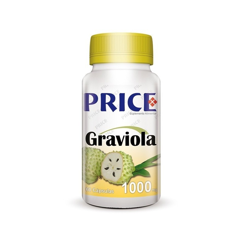 Graviola - Anti-Câncer/Cancro - 60 cápsulas de 1000mg - Price