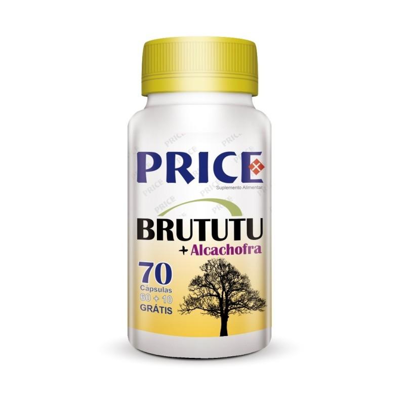 Brututu + Alcachofra 60+10 Cápsulas - Price