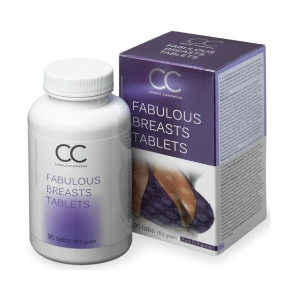 COMPRIMIDOS CC FABULOUS BREASTS TABLETS
