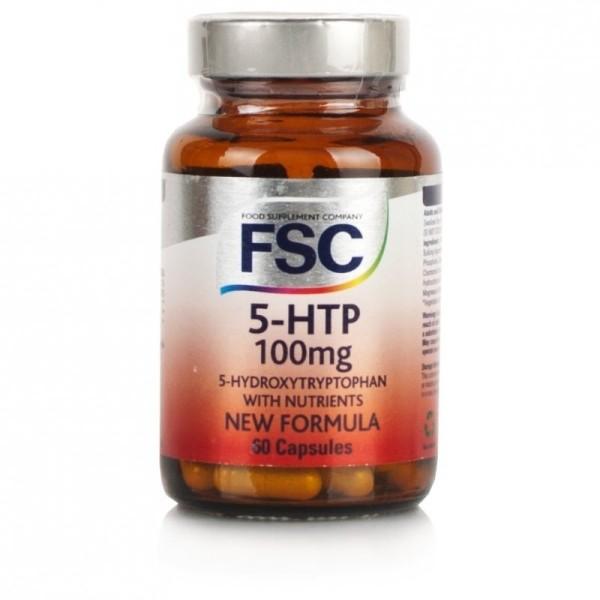 5-HTP - Hidroxitriptofano - FSC - 60 cápsulas de 100mg