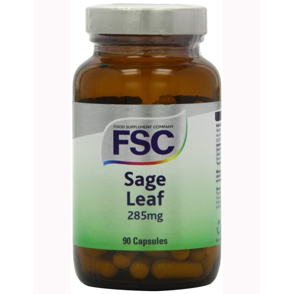 SAGE LEAF 285 mg - 90 Caps - SALVA - FSC