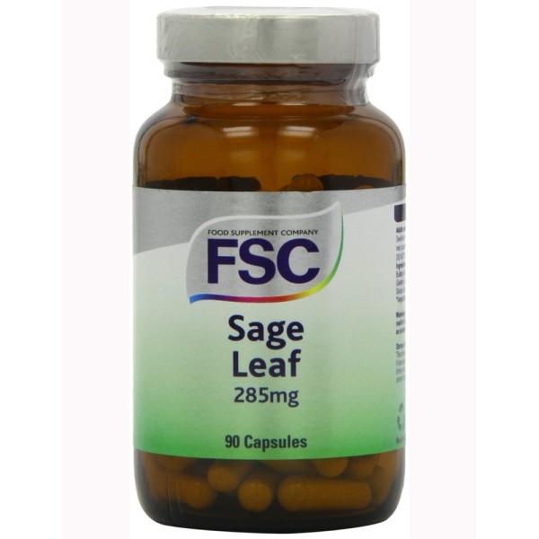 SAGE LEAF 285 mg - 90 Caps - SALVA - FSC