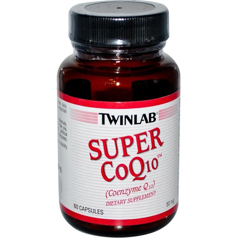 Super coq10 - COENZIMA Q 10 - 60 cápsulas 50mg - Twinlab