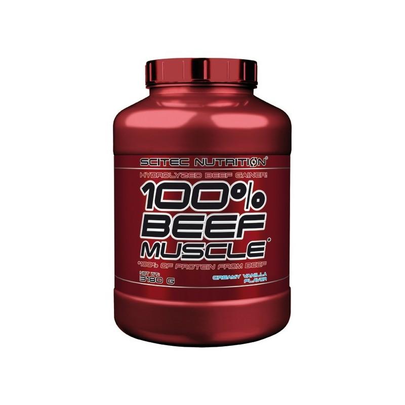 100% BEEF MUSCLE – 3180g Scitec