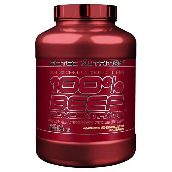100% BEEF CONCENTRATE – 2000g Scitec