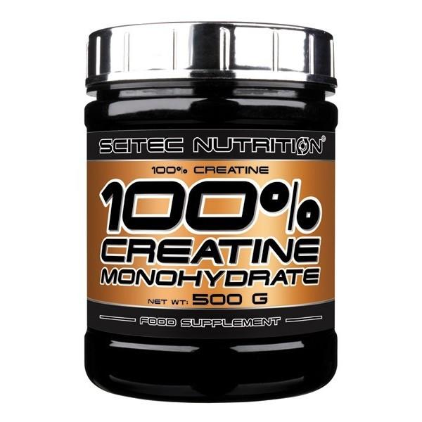 100% CREATINE MONOHYDRATE – 500 Pó de mistura- Scitec