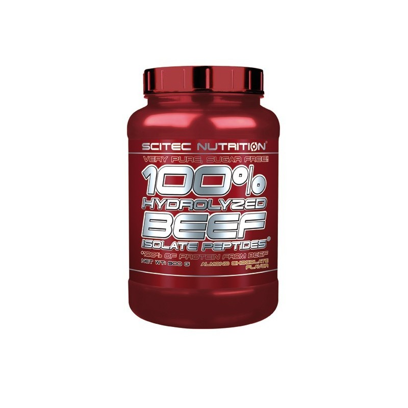 100% HYDROLYZED BEEF ISOLATE PEPTIDES – 900g Scitec