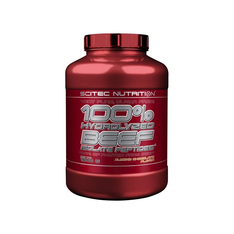 100% HYDROLYZED BEEF ISOLATE PEPTIDES – 1800g Scitec